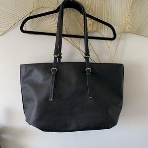 Zara Trafaluc Black Large Tote Bag